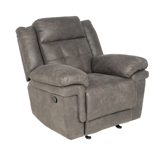 Anastasia Glider Recliner Grey - Canales Furniture
