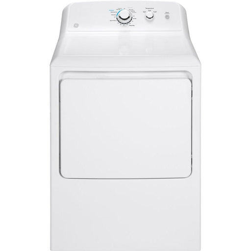 GE® 6.2 cu. ft. Capacity aluminized alloy drum Electric Dryer - Canales Furniture