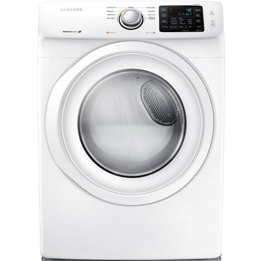7.5 cu. ft. Electric Dryer in White - Canales Furniture