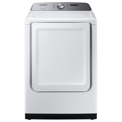 7.4 cu. ft. Gas Dryer with Sensor Dry in White - Canales Furniture