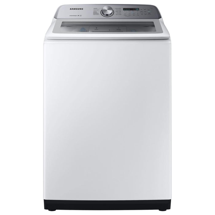 5.0 cu. ft. Top Load Washer with Active Water Jet in White - Canales Furniture