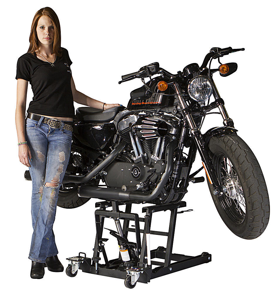 J Amp S Loaded Combo Motorcycle Lift Dolly Voodoo Powersports