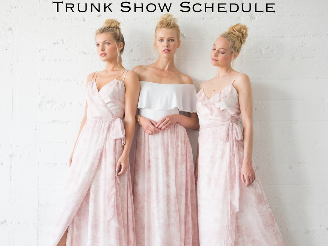 Winter 2017/Spring 2018 Trunk Shows