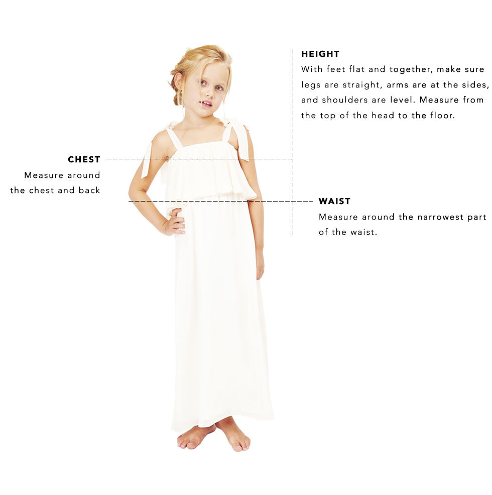 flower girl sizing image