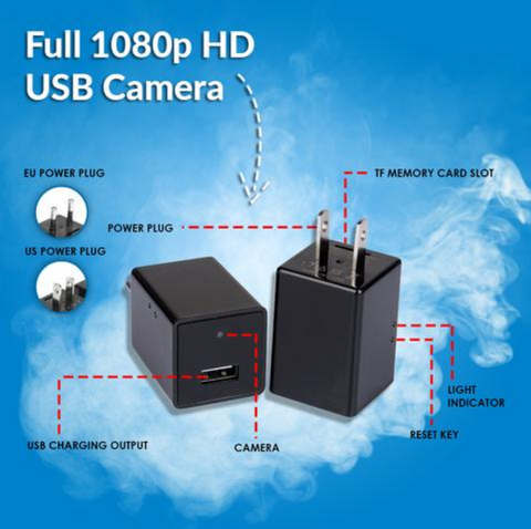 Full 1080p HD Hidden USB Spy Camera with Audio