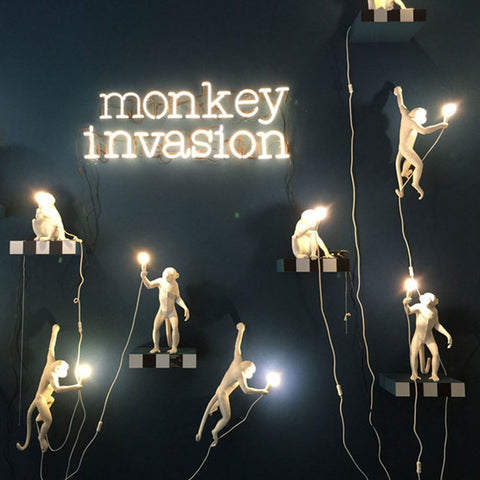 Creative Monkey Lamps