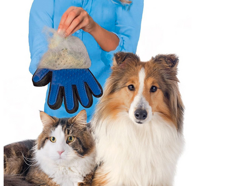 Deshedding Hair Glove Brush For Pets