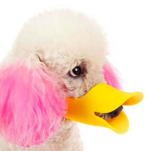 Duck Mouth Dog Anti-bite Masks Muzzle