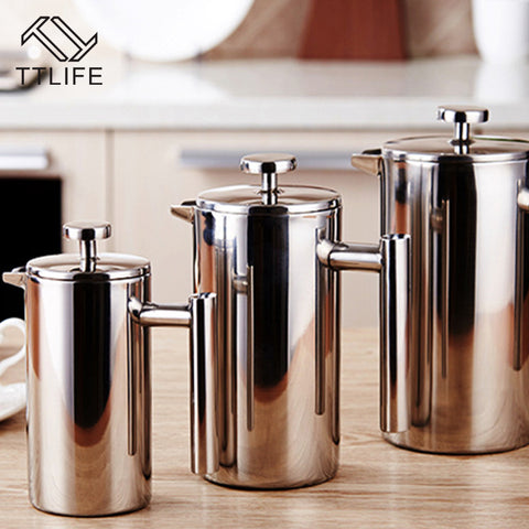 Luxury Stainless Steel French Press Coffee Maker