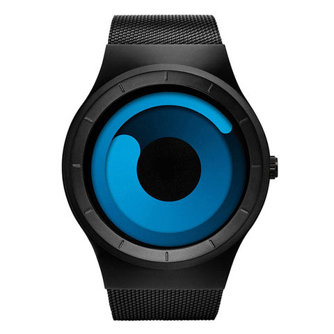 Sweeping Northern Lights Minimalist Tech Watch