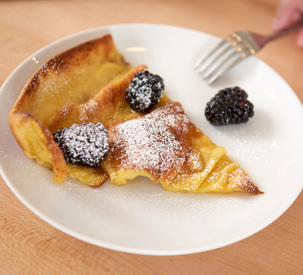 dutch baby slice