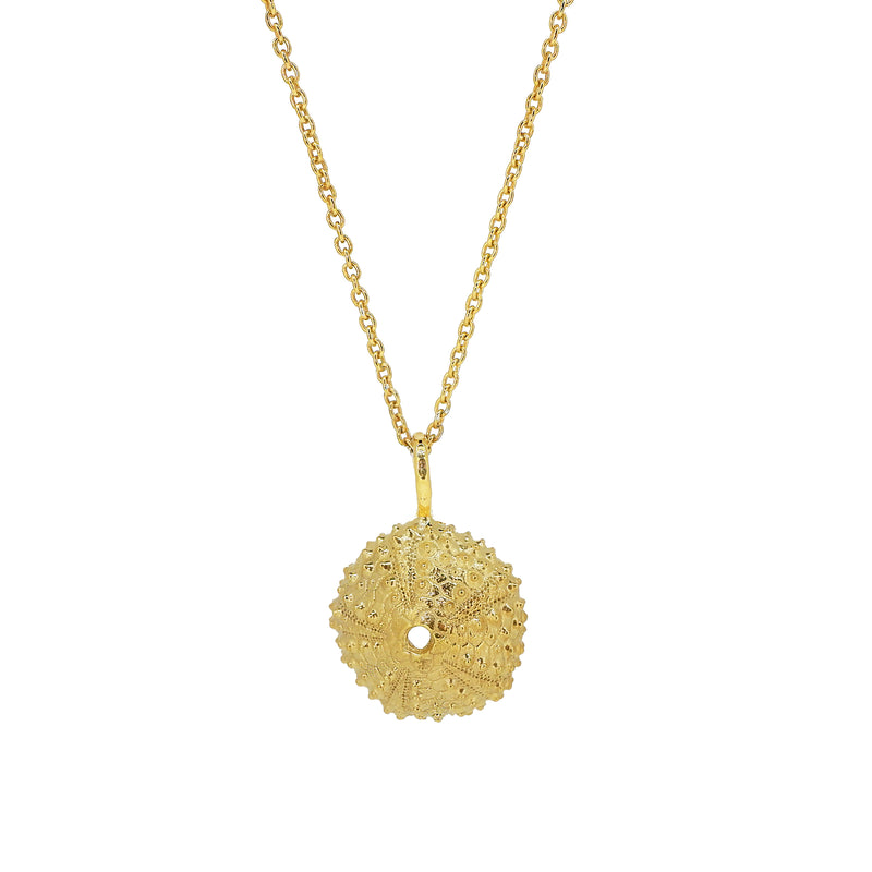Sea Urchin Necklace - Gold