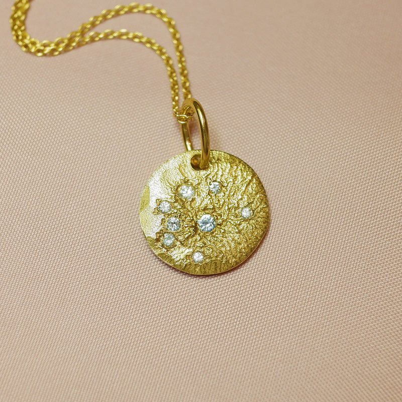Sparkle Bright Necklace - Gold