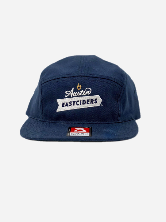 5 Panel Logo Hat – Austin Eastciders 3ed00c84018
