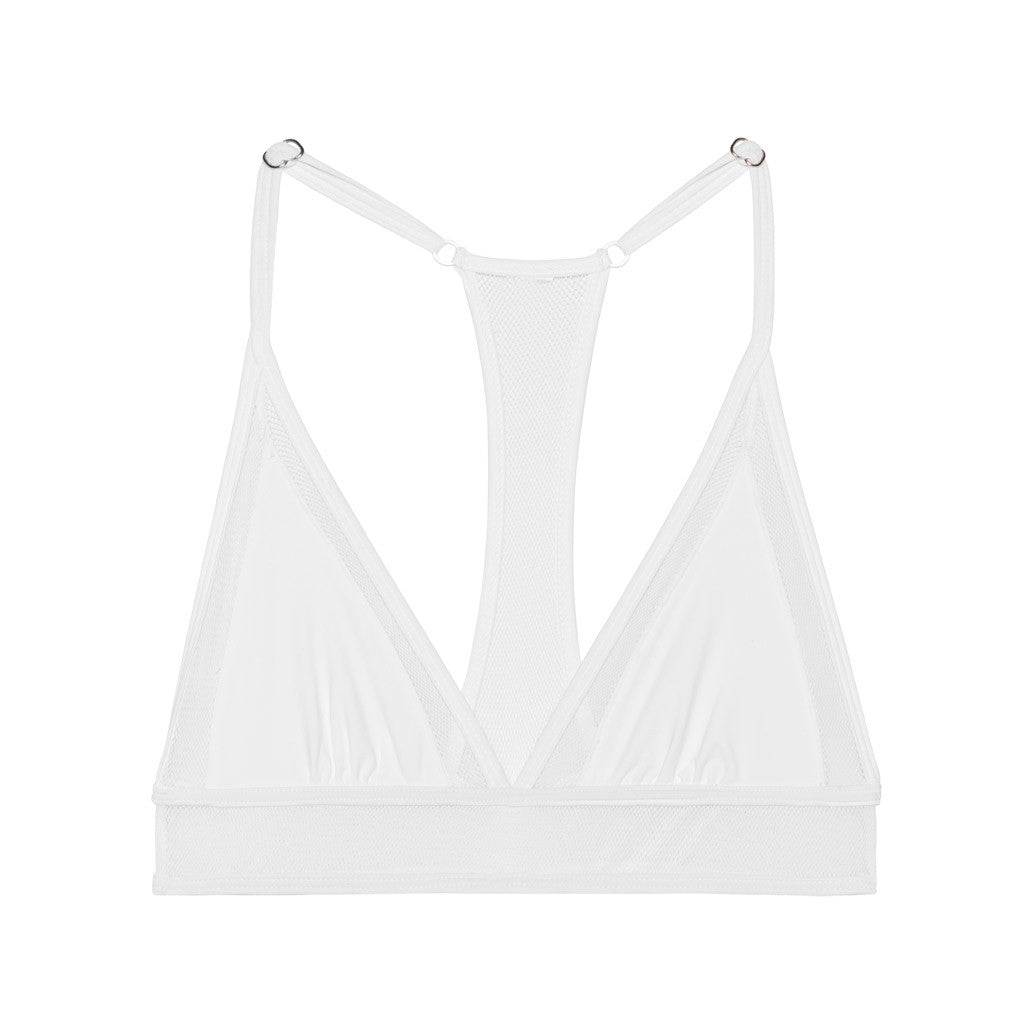 Ava Mesh Triangle Top