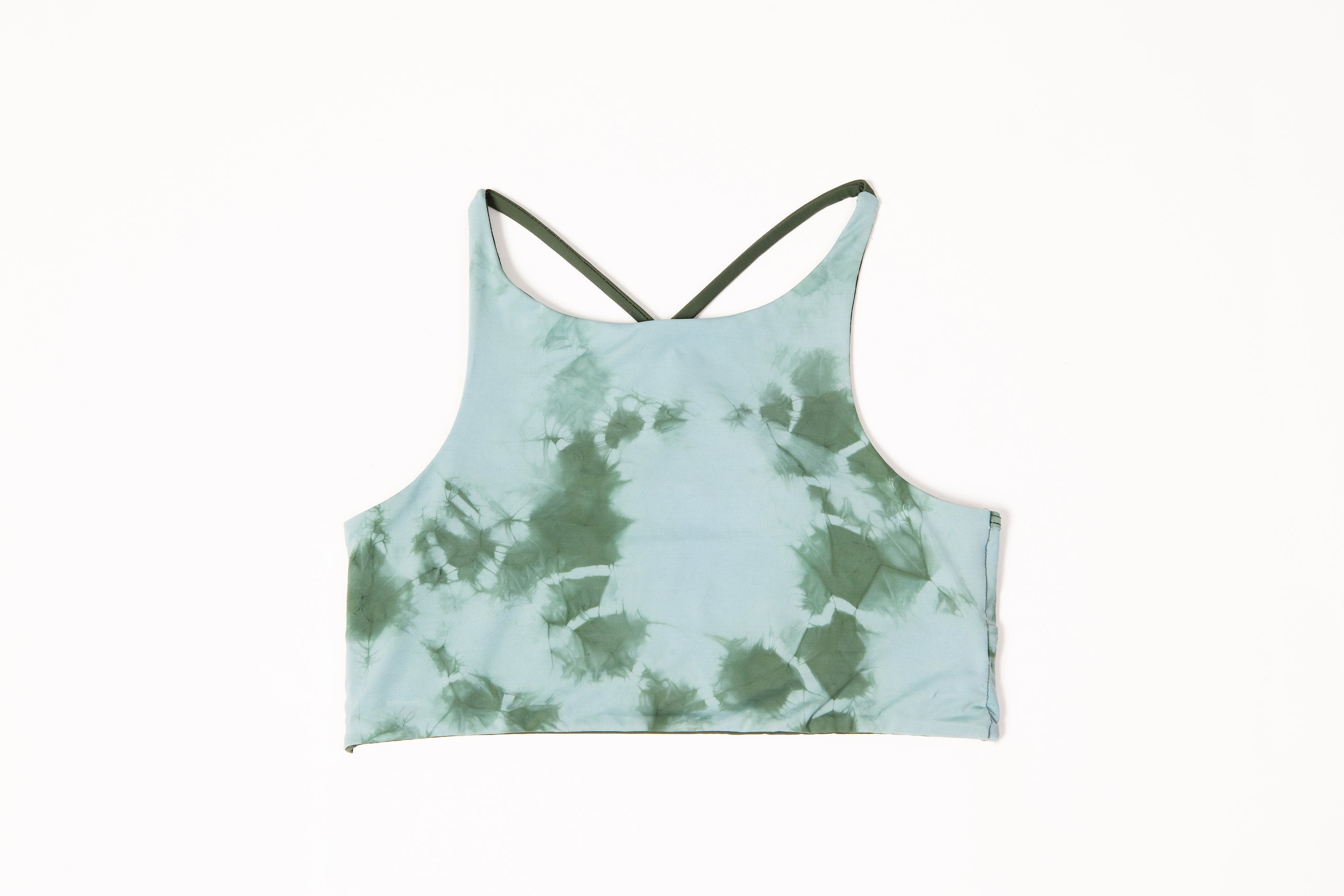 Cara Printed High Neck Sport Bra