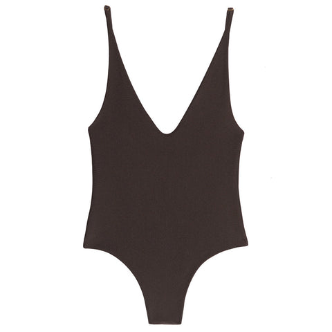 Sloane Vegan Leather Bodysuit