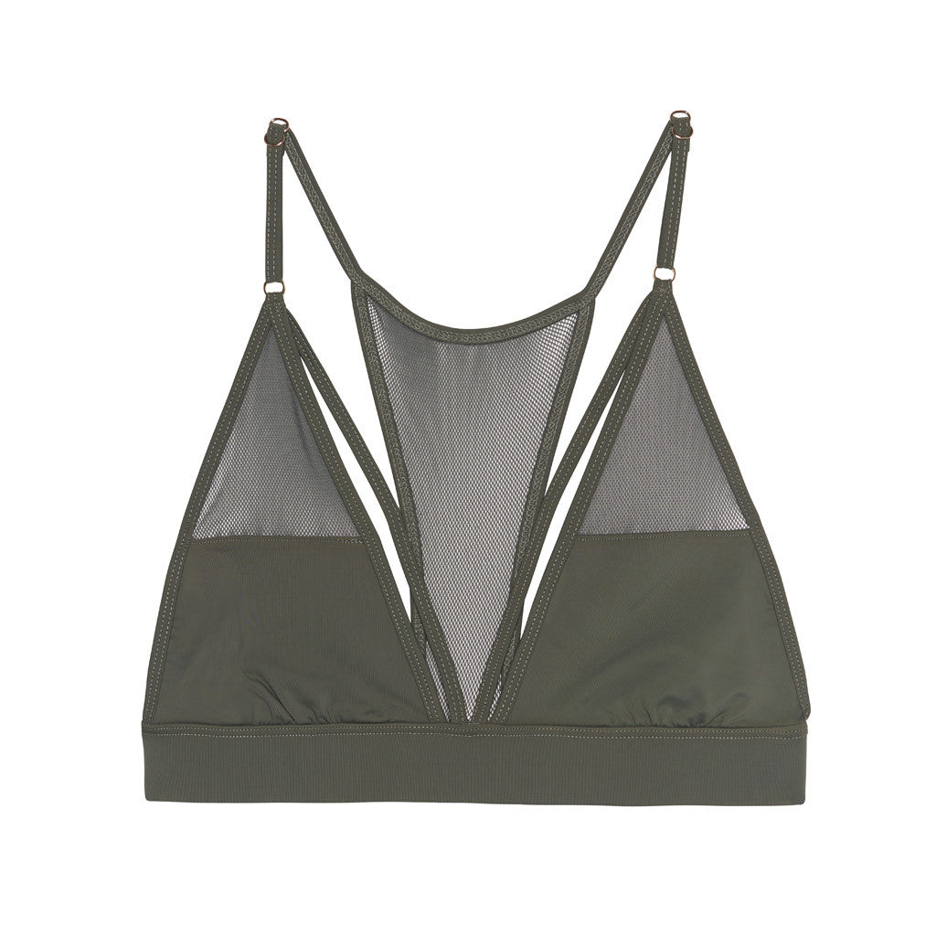 Sylvie Mesh Bralette With Band