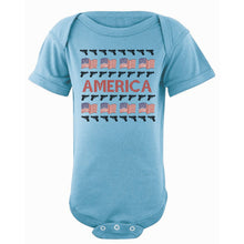 Onesie - Ugly Christmas Sweater - America