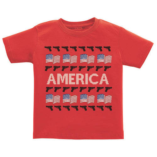 T-Shirt - Ugly Christmas Sweater - America