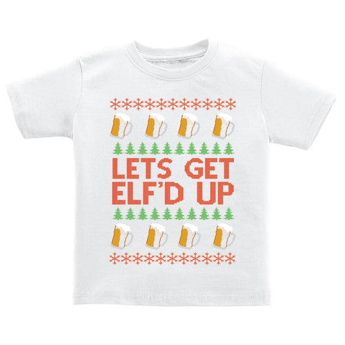 T-Shirt - Ugly Christmas Sweater - Elf'd Up