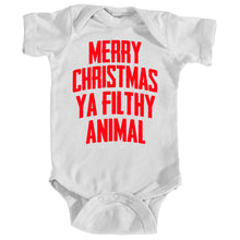 Onesie - Merry Christmas, Ya Filthy Animal