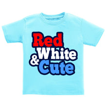 T-Shirt - Red, White, and Cute