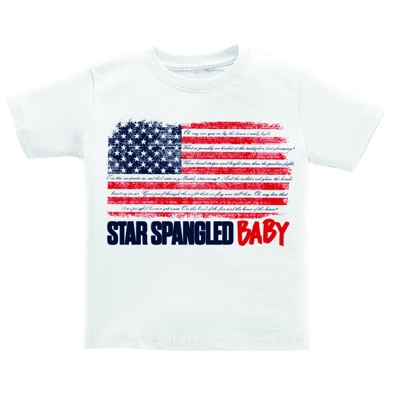 T-Shirt - Star Spangled Baby