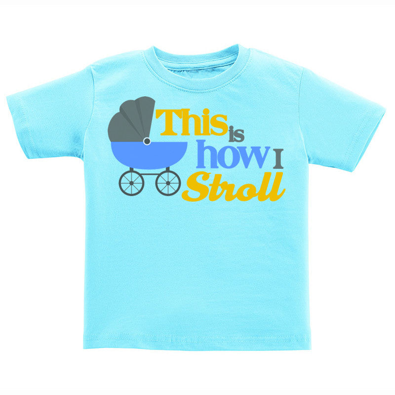 T-Shirt - How I Stroll (Boy)