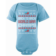Onesie - Ugly Christmas Sweater - World War Champs