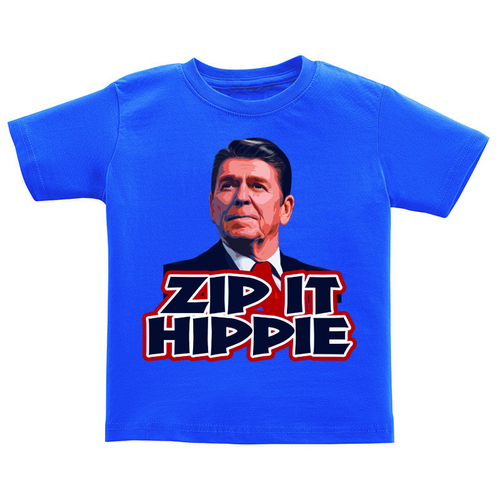T-Shirt - Zip It Hippie