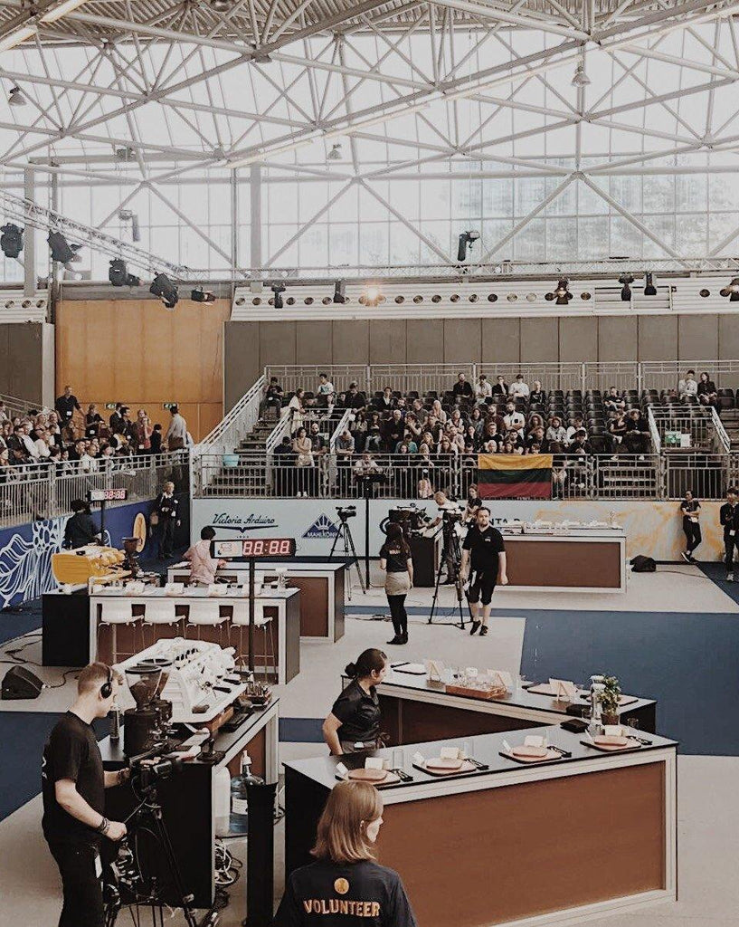 World Barista Championship - Third Wave Coffee Roasters