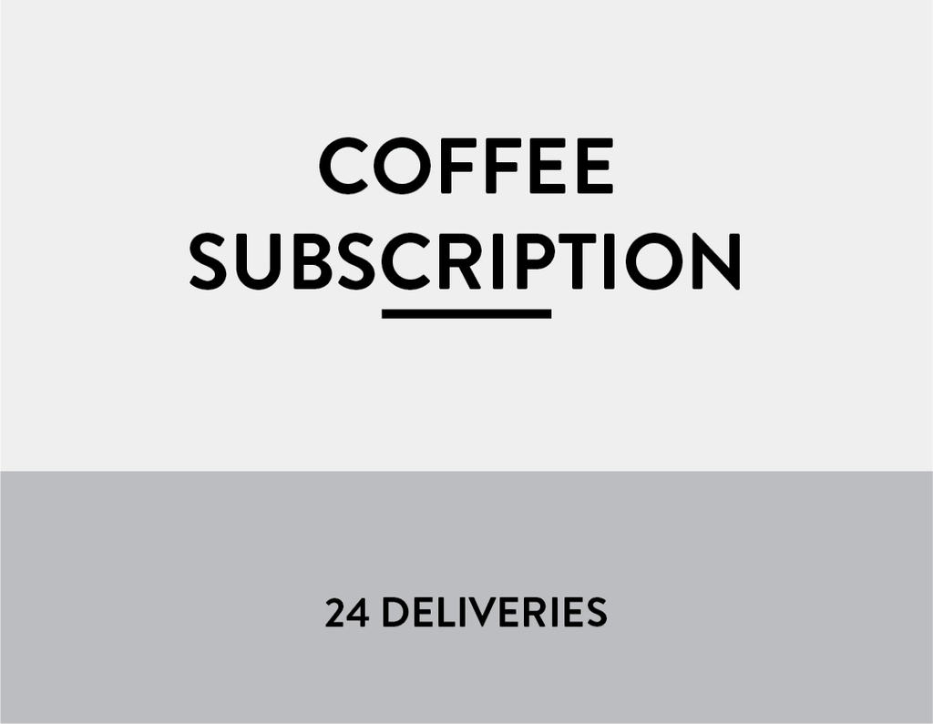 Subscription - 24 Deliveries