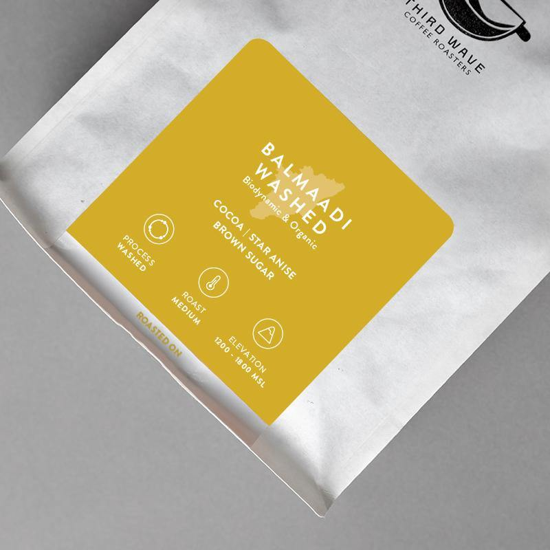 Balmaadi Estate Organic & Biodynamic - Third Wave Coffee Roasters 100% Arabica Coffee