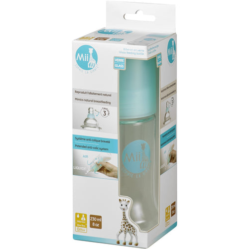 Mii  Sophie la Girafe® Glass Baby Bottles 8oz / 230ml