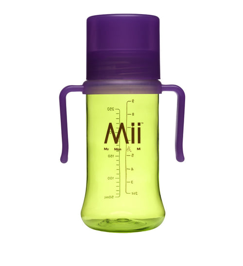 Mii Baby™ 9oz./ 266ml True Transition™ Drinking Cup (Green-Purple)