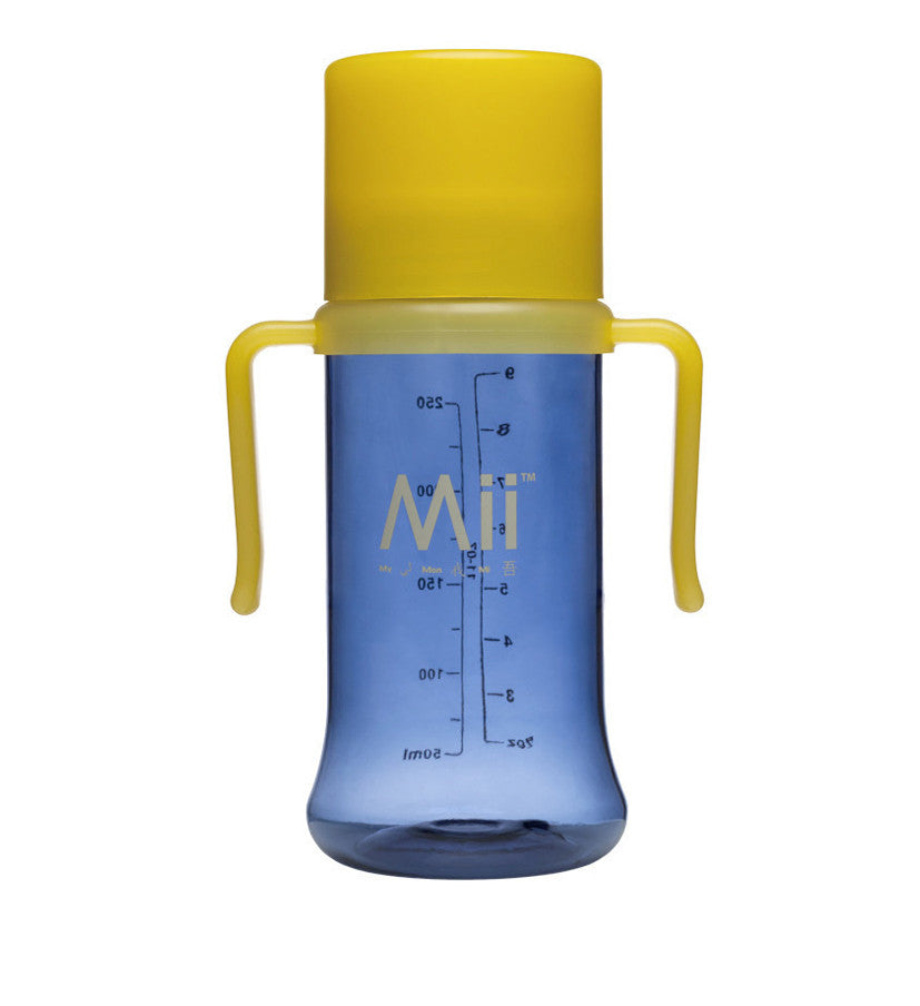 Mii Baby™ 9oz./ 266ml  True Transition™ Drinking Cup (Blue-Yellow) - miibaby