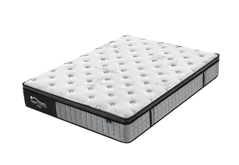 Pending - Rest Therapy Mattress Queen 12 Inch Bliss Bamboo Plush Pocket Coil Mattress with Gel Memory Foam - Available in 2 Sizes
