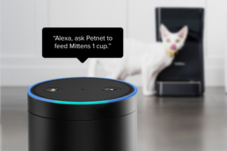 image The Petnet SmartFeeder now works with Amazon Alexa!