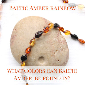 Baltic Amber Rainbow - What colors does Baltic Amber Come In?