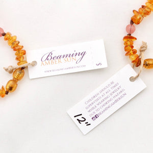 Amber Necklace Wholesale Starter Kit - Amber Teething Necklace - Baltic Amber Teething Necklace - Amber Wholesale Bundle - Amber Necklace