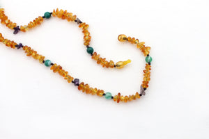 Matching Baltic Amber Necklace Set