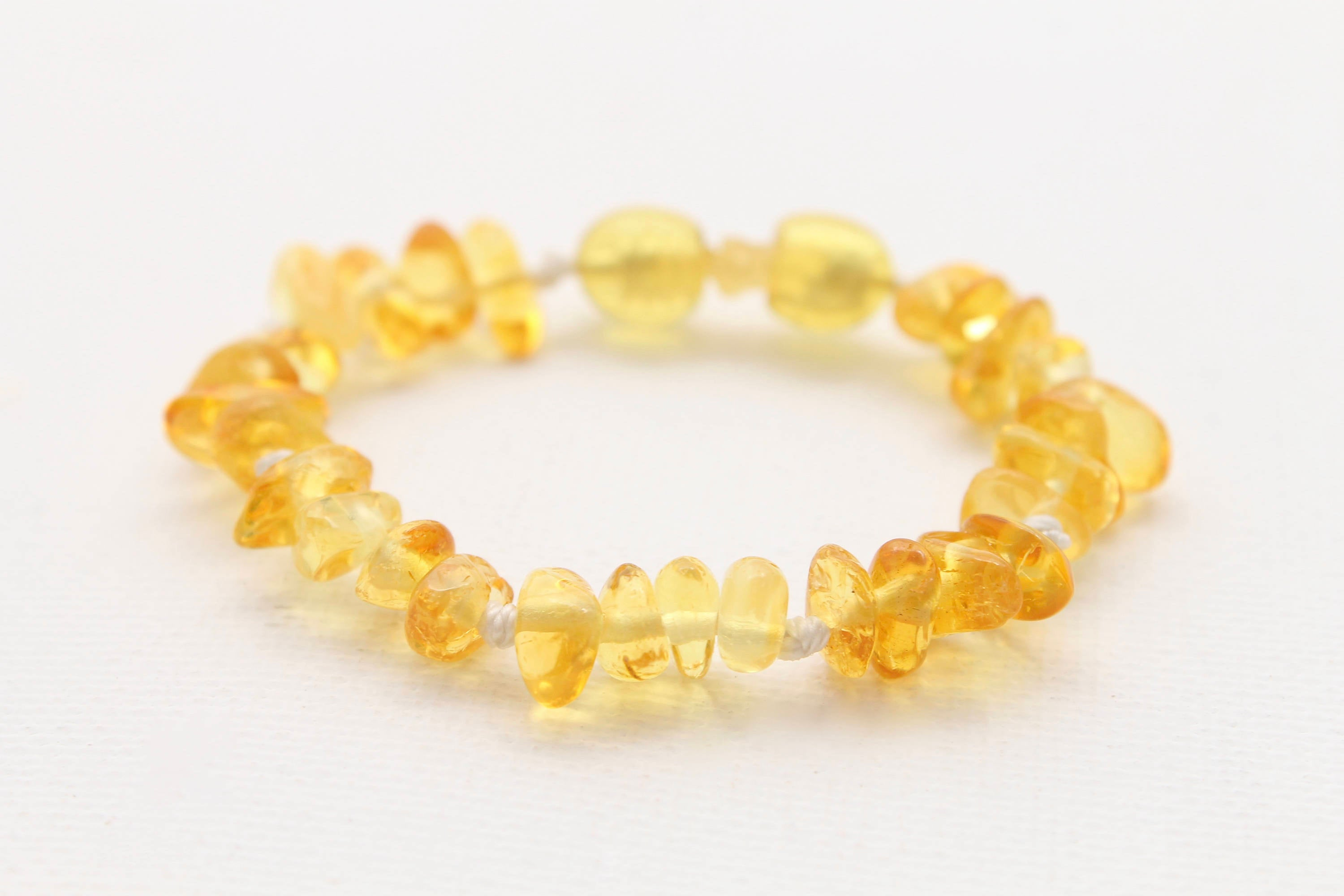 Lemon Baltic Amber Bracelet