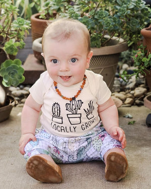 Gender Neutral Amber Teething Necklace