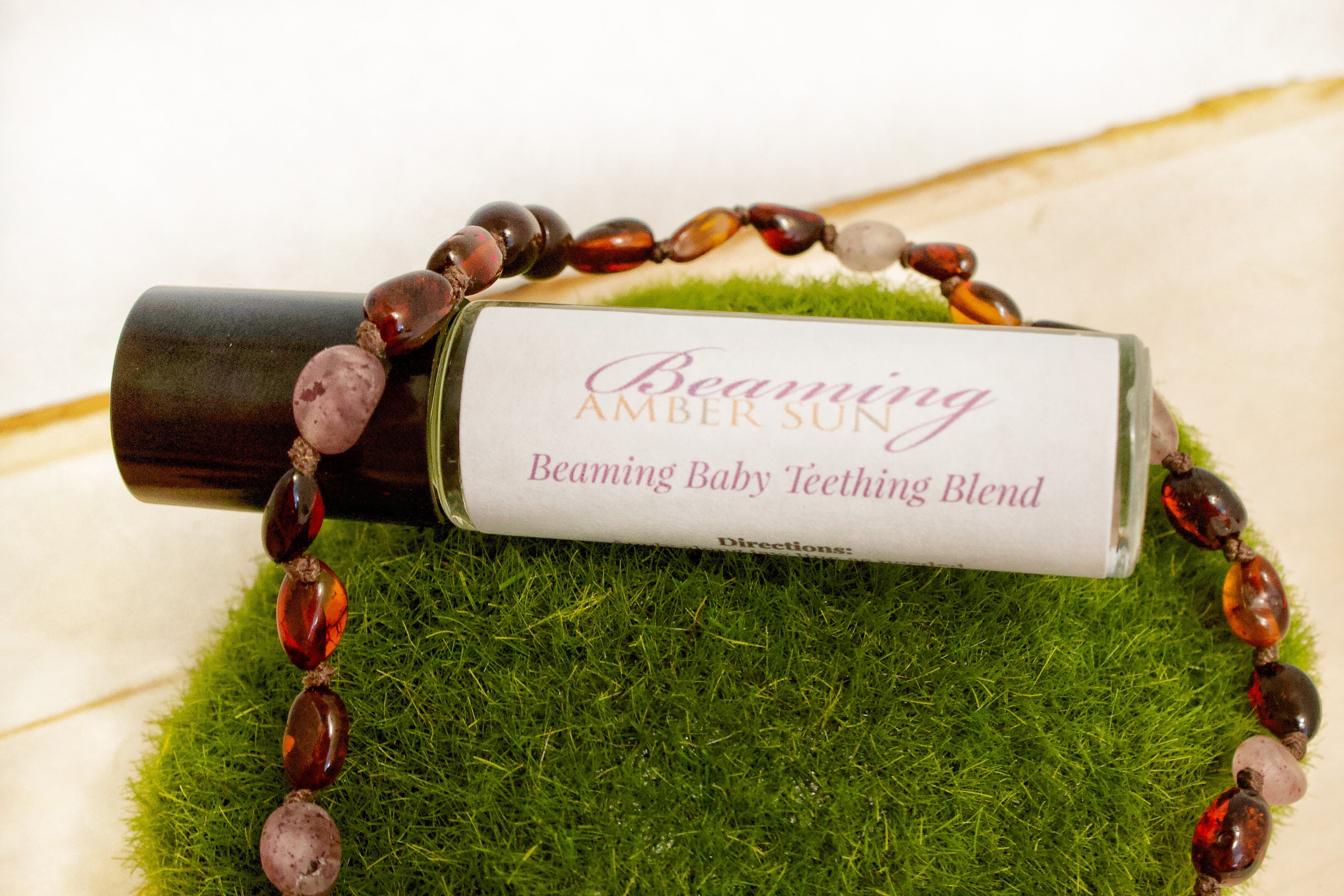 Beaming Baby Teething Blend | Essential Oil Teething Relief Blend | Roll On Teething Blend
