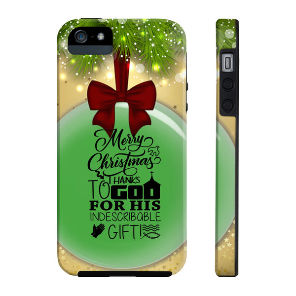Thanks To God For Christmas All US Phone cases