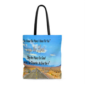 For I Know The Plans I Have For You - Printed Tote Bag