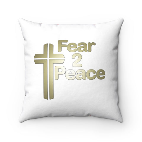 When I Am Afraid I Put My Trust In You - Printed Pillow