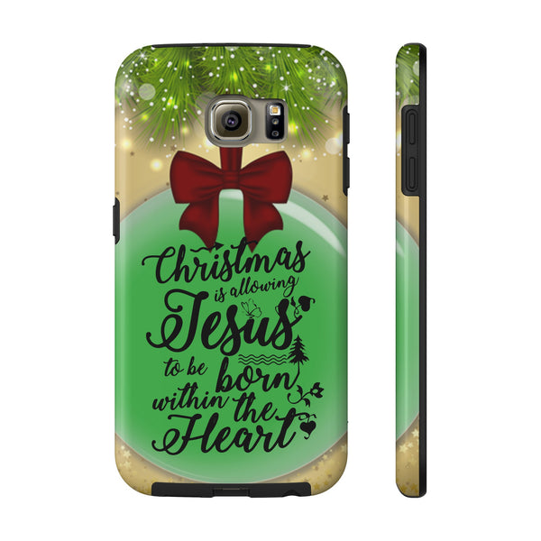 Christmas Is Allowing Jesus All US Phone cases