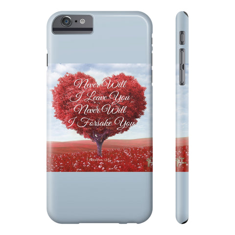 Never Will I Leave You All US Phone cases